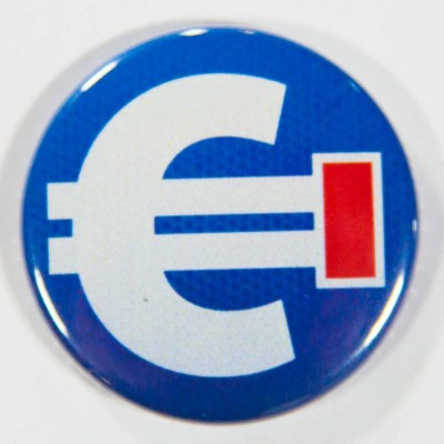 Badge impasse euro 38mm