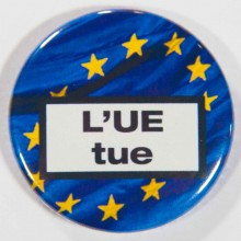 Badge l'UE tue 38mm