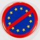 Badge UE barrée 38mm