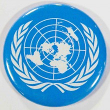 Badge ONU 38mm
