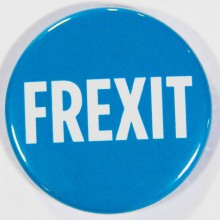 Badge UPR Frexit 38mm