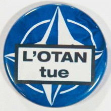 Badge UPR Otan tue 38mm